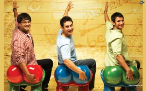 3 idiots (Best Bollywood movies on friendship)