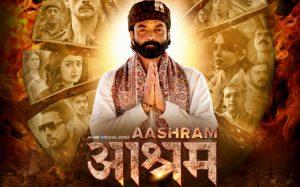 Aashram image (best Hindi web series)