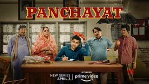 Panchayat image (best Hindi web series)
